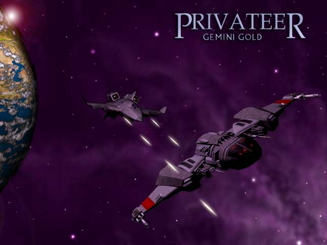 Privateer Title Screen
